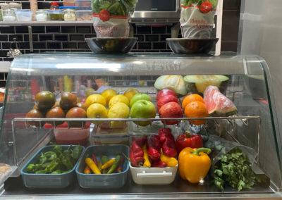 Mon bar à tapas fruits et légumes frais